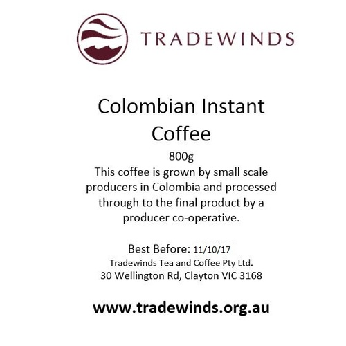 Columbian Instant Coffee